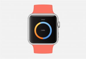 Watch Timer UI
